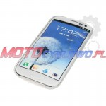 Pokrowiec na telefon Interphone ULTRA-THIN COVER Samsung galaxy S3, transparentny